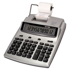 VCT12123A - Victor® 1212-3A AntiMicrobial 12-Digit Printing Calculator