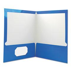 UNV56419 - Laminated Two-Pocket Folder