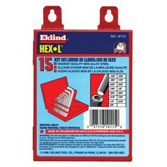 EKT269-10115 - Eklind ToolHex-L® Key Sets
