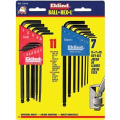 EKT269-13218 - Eklind ToolBall-Hex-L™ Key Sets