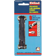 EKL20912 - Inch Fold-Up Hex Key Sets