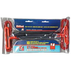 EKT269-53910 - Eklind Tool - Cushion Grip Inch T-Key Sets