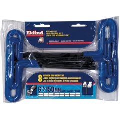 EKT269-55168 - Eklind ToolCushion Grip Metric T-Key Sets