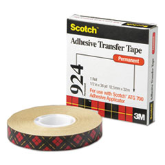 MMM92412 - Scotch® Adhesive Transfer Tape