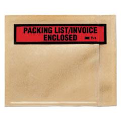 MMMT11000 - 3M Top Print Self-Adhesive Packing List Envelope