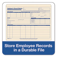 TOP3280 - TOPS® Employee Record Master File Jacket