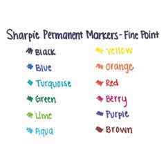 SAN30002 - Sharpie® Fine Tip Permanent Marker