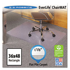ESR121821 - ES Robbins® EverLife® Chair Mats For Medium Pile Carpet