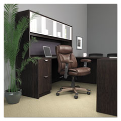 ALEVN5159 - Alera® Veon Series Leather Mid-Back Manager's Chair