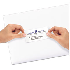 AVE58163 - Avery® Repositionable Shipping Labels