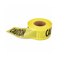 ORS272-71-1001 - Empire LevelEcono Grade Caution Tape-Yellow w/Black Print