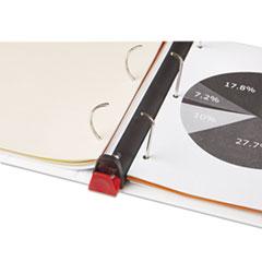 UNV30722 - Universal® Comfort Grip Deluxe Plus D-Ring View Binder