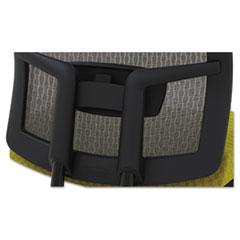 MLNGS11SVRBLK - Mayline® Gist™ Multi-Purpose Chair