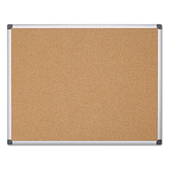 BVCCA271170 - MasterVision® Value Cork Bulletin Board with Aluminum Frame