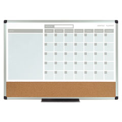BVCMB3507186 - MasterVision® 3-in-1 Planner Board