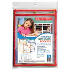 CLI42630 - C-Line® Reusable Dry Erase Pockets