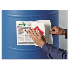 AVE60521 - UltraDuty™ GHS Labels for Hazardous Materials and Workplace Safety