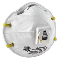 MMM8210V - 3M Particulate Respirator 8210V, N95 with 3M Cool Flow™ Valve