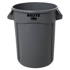 RCP263200GY - Rubbermaid® Commercial Round Brute® Container