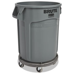 RCP262000GRA - Rubbermaid® Commercial Round Brute® Container