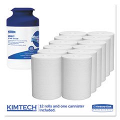 KCC77320 - KIMTECH* Wipers for the WETTASK* System for Bleach, Disinfectants & Sanitizers