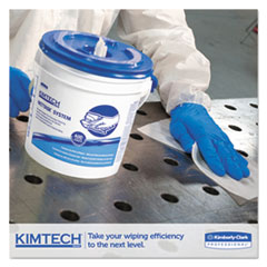 KCC06211 - KIMTECH* Wipers for the WETTASK* System for Disinfectants & Sanitizers