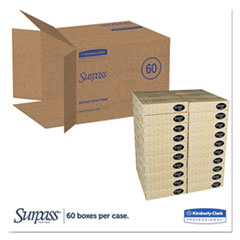 KCC21390 - SURPASS* Facial Tissue - Flat Box