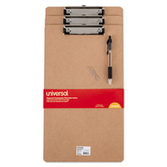 UNV05563 - Universal® Recycled Hardboard Clipboard with Low-Profile Clip