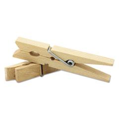 CKC365801 - Creativity Street® Wood Spring Clothespins