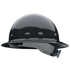 FBM280-E1RW11A000 - Fibre-Metal - E1RW Full Brim Hard Hats, Ratchet, Supereight, Black