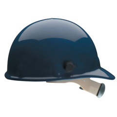 FBM280-E2QRW75A000 - Fibre-Metal - E2 Hard Hats With Model 4000 Quick-Lok Mounting System, Supereight, Dark Blue