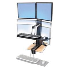 ERG33341200 - Ergotron® WorkFit-S Sit-Stand Workstation
