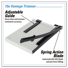 DAH15E - Dahle® Vantage Guillotine Paper Trimmer/Cutter