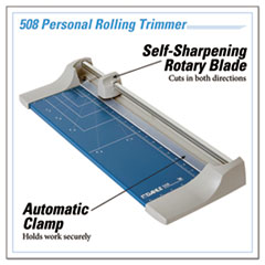 DAH508 - Dahle® Rolling/Rotary Paper Trimmer/Cutter