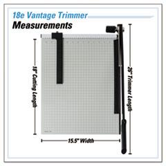 DAH18E - Dahle® Vantage Guillotine Paper Trimmer/Cutter