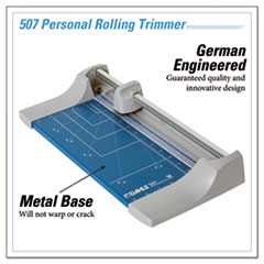 DAH507 - Dahle® Rolling/Rotary Paper Trimmer/Cutter