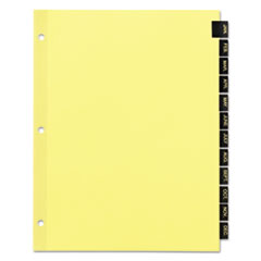 AVE11484 - Avery® Office Essentials™ Printed Tab Index Divider Set