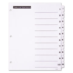 AVE11670 - Avery® Office Essentials™ Table N Tabs™ Dividers