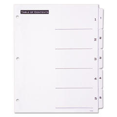 AVE11666 - Avery® Office Essentials™ Table N Tabs™ Dividers