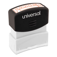 UNV10054 - Universal® Pre-Inked One-Color Stamp