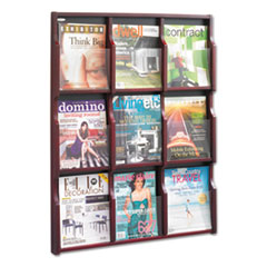 SAF5702MH - Safco® Expose Adjustable Magazine/Pamphlet Literature Display