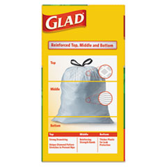 CLO78900 - Glad® OdorShield® Tall Kitchen Drawstring Bags