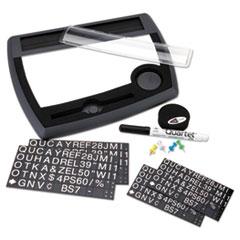 QRT25035 - Quartet® Tack & Write™ Nameplate