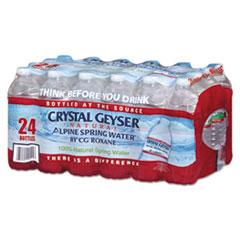 CGW24514CT - Crystal Geyser® Alpine Spring Water