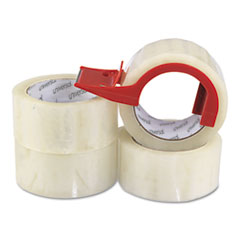 UNV91004 - Universal® Heavy-Duty Box Sealing Tape with Dispenser