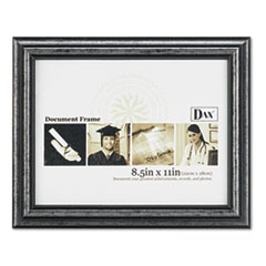 DAXN15790NT - DAX® Antique Brushed Charcoal Wood Finish Document Frame