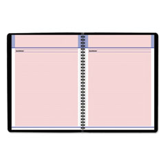 AAG76PN0605 - QuickNotes Special Edition Monthly Planner, 10 7/8 x 8 1/4, Black/Pink, 2020