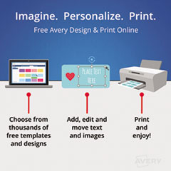 AVE11515 - Avery® Print-On™ Dividers