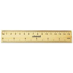 UNV59024 - Universal® Flat Wood Ruler