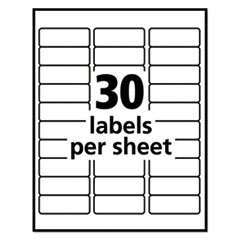 AVE55160 - Avery® Repositionable Address Labels